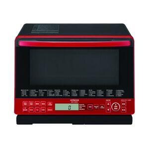 日立MROS800XTR -31L 過熱水蒸氣烘烤微波爐 (晶鑽紅)
