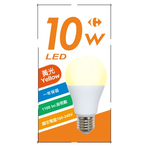 家樂福LED燈泡10w, 黃光, large
