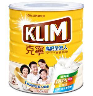克寧高鈣全家人營養奶粉-DHA2.2kg