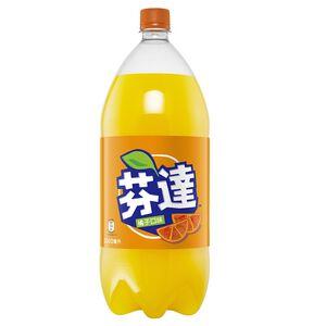 芬達橘子汽水2L