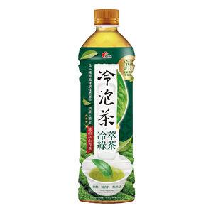 光泉冷泡綠茶無糖-585ml