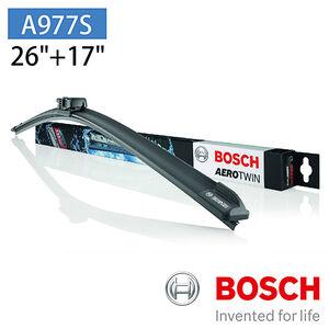 【汽車百貨】BOSCH A977S專用軟骨雨刷-雙支