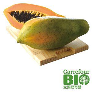 家樂福BIO有機木瓜(每粒約600克)