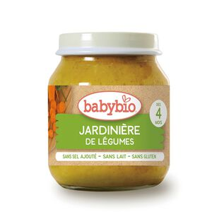Babybio Organic Garden Vegetables Jar