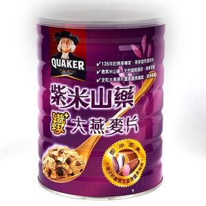 Quaker Instant Oats Black Rice YAM Flake