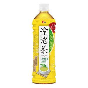 光泉冷泡茶春釀綠茶微甜Pet585 ml