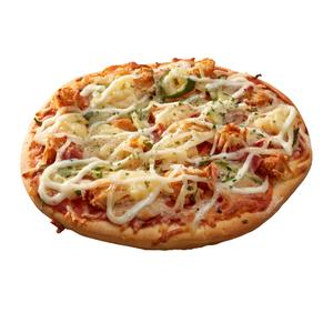 8吋黃金培根雞米花披薩即食商品-到貨效期2天