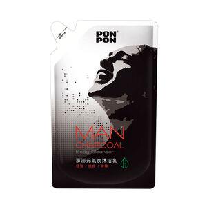 Pon Pon Carbon Powder Shower Gel For Man