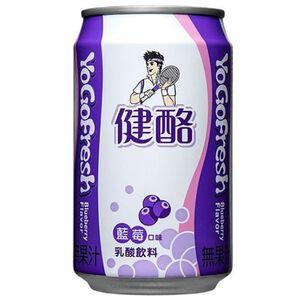 健酪藍莓乳酸飲料