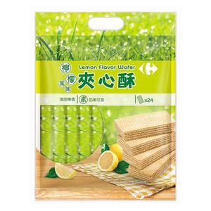 家樂福檸檬風味夾心酥400g