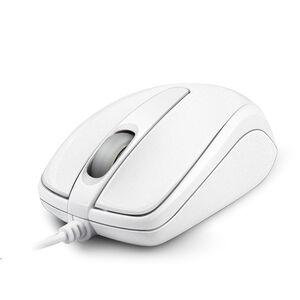 SANYO超手感有線光學滑鼠M17( 白、粉、黑三色隨機出貨)