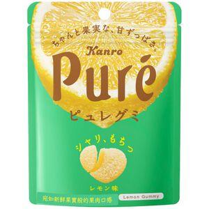 日本甘樂鮮果實軟糖-檸檬口味56g