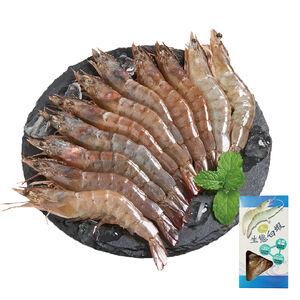 冷凍生態大白蝦(每盒約250克/10~13尾)