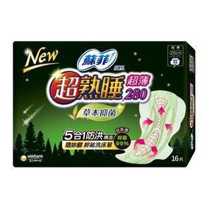Sofy Herb anti-bac slim 28cm 16P