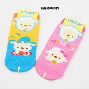 喜羊羊直版止滑童襪-顏色隨機出貨(11-13公分)