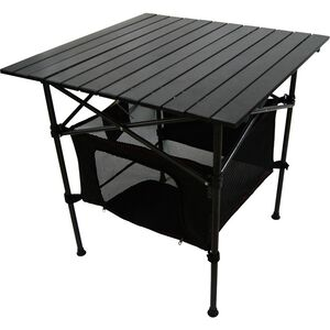 Easy-carry roll-up picnic table