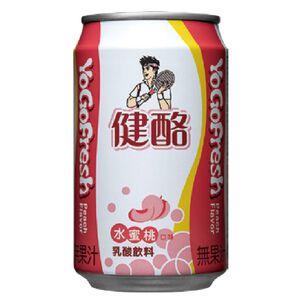 健酪水蜜桃乳酸飲料 320ml
