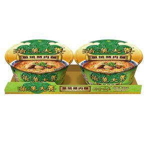 滿漢大餐蔥燒豬肉麵(碗)193g