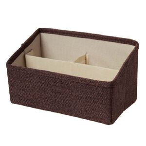 品田日居長方3格小物收納盒