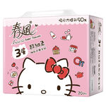 Hello Kitty三層抽取式衛生紙, , large
