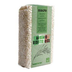 Macro Arborio Risotto Rice