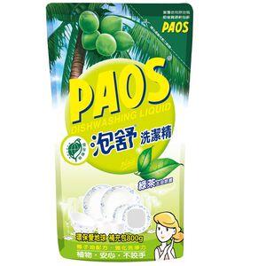 泡舒洗潔精補充包-綠茶-800g