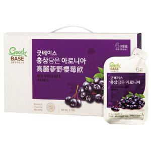 GoodBASE Korean Red Ginseng  Aronia