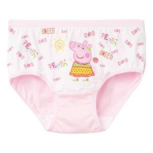 粉紅豬女童精梳純棉內褲2入(顏色隨機出貨)