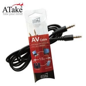 Atake 3.5mm公對公立體聲連接