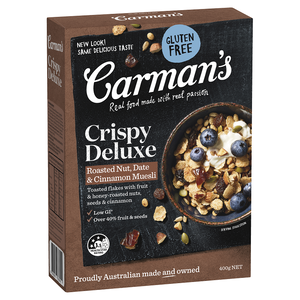Carmans Muesli Deluxe Fruit Gluten Free