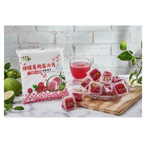 老實農場檸檬蔓越莓冰角28gx10