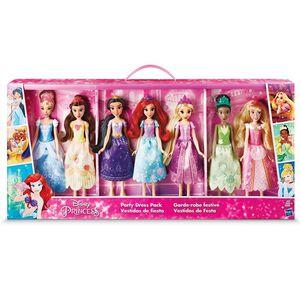 7 Disney Princess dolls