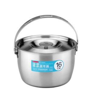 康潔調理鍋附提把 16cm