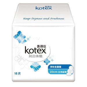Kotex White Scented Pad-Day Slim