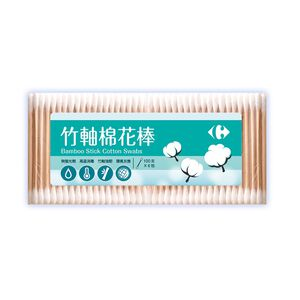 Carrefour Bamboo Stick Cotton Swabs