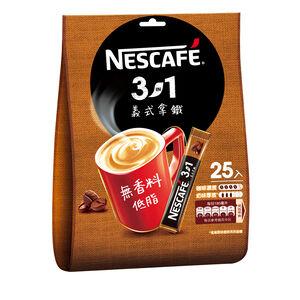雀巢咖啡三合一義式拿鐵16g X25