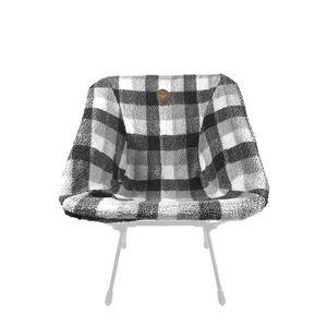 OWL CAMP彩色羊絨椅套-PKF005黑白格(實際出貨不含展示用椅架)