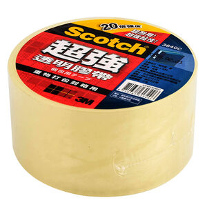 Holding power clear tape