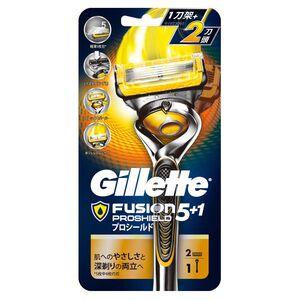吉列鋒護潤滑系列刮鬍刀(1刀架2刀頭)