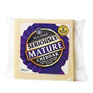 麥克連蘇格蘭陳年白色切達乳酪