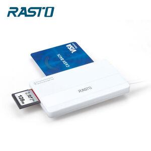 RASTO RT4 Smart Card Memory Card Reader
