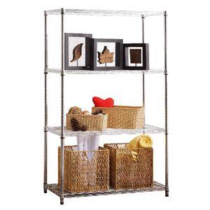 Metal 4 Level Shelf (L)