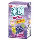 泰山冰鎮葡萄鮮冰茶 250ml, , large