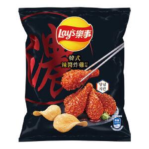 Lays Korean Spicy Fried Chicken