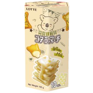樂天小熊餅家庭號-香濃煉乳風味-195g
