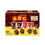韓國樂天字母巧克力餅乾, , large
