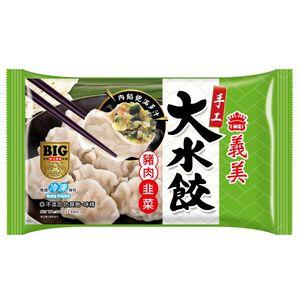 義美手工大水餃-豬肉韭菜-500g