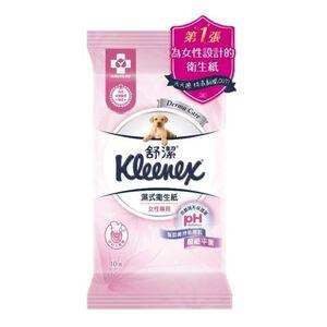 舒潔女性專用濕式衛生紙