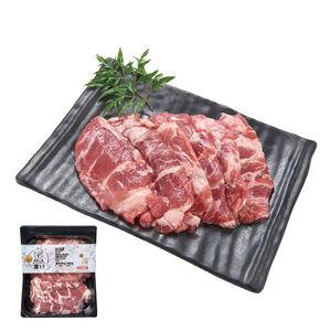 【台灣豬】氣炸人生冷凍台灣豚肩條肉(貼體包裝)(每盒約450克)