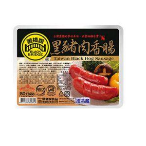 黑橋牌原味黑豬肉香腸-220g